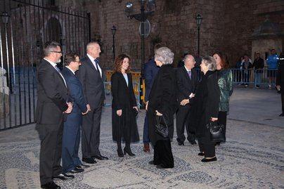 La reina Sofía preside el concierto benéfico de Proyecto Hombre en la Seu