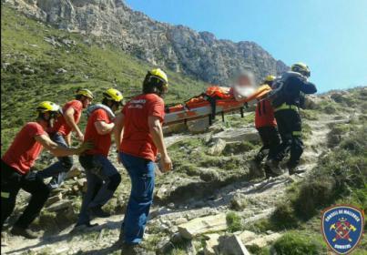 Balears copa el 11,55 por ciento de los accidentes de montaña de toda España