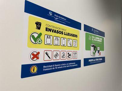 La APB elimina los plásticos de un solo uso en sus instalaciones