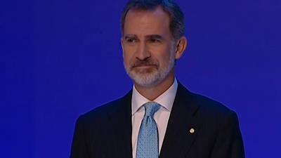 El Rey alerta en Barcelona contra la violencia y la intolerancia