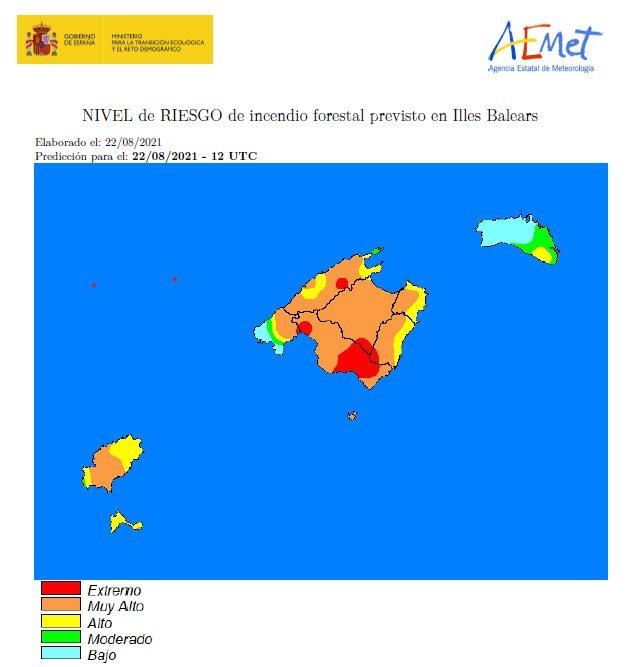 Temperaturas muy altas en Mallorca