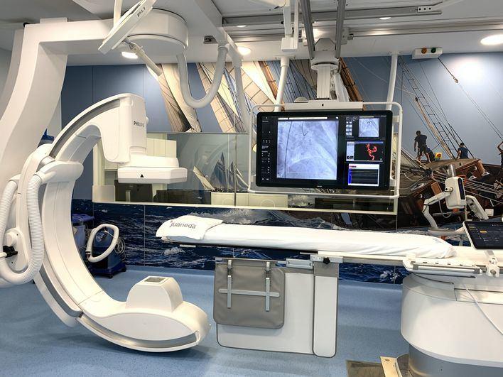 Clínica Juaneda, a la vanguardia en tecnología de Radiología Vascular y Cardiología Intervencionista