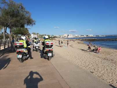 Palma cierra una noche de Sant Joan tranquila y sin incidentes