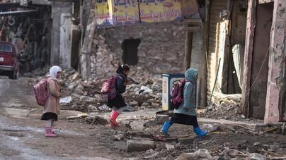 Save the Children recrea en Palma los ataques contra la infancia y la educación en Siria