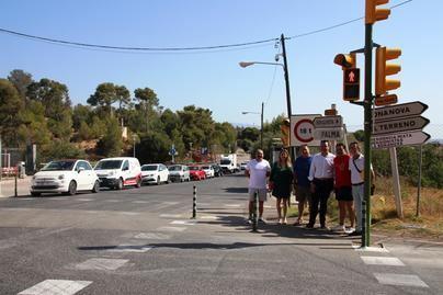 Génova cuenta con un nuevo semáforo que incrementa la seguridad vial de los vecinos