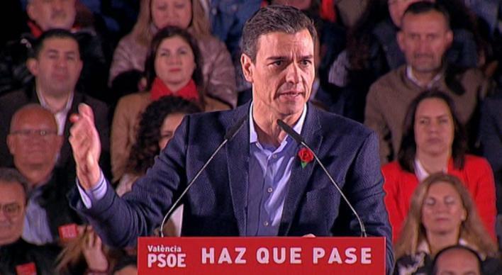 Sánchez: 'Cs pagará caro haber abrazado a la ultraderecha'