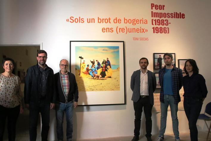 El Casal Solleric inaugura 'Vida i Color, Palma i els anys 80 des de la mirada de Toni Socias'