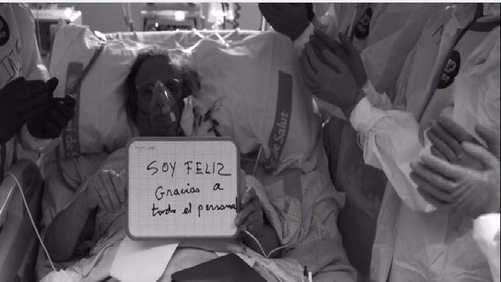 Son Llàtzer rinde homenaje a todos lo que luchan contra la pandemia