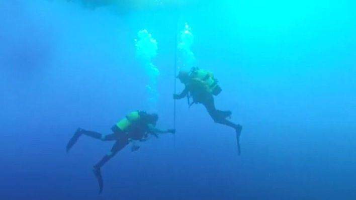 Hallado el cuerpo del buceador Fernando Garfella, desaparecido en aguas de Sant Telm