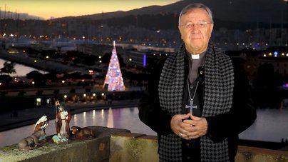 El Obispo de Mallorca recuerda a las víctimas con el canto de la Sibil·la en un aforo reducido