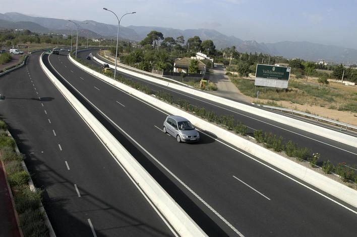 El tráfico desciende en Baleares un 70 por ciento tras los controles por Covid 19
