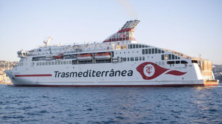 Trasmediterránea ofrece más de 5 millones de plazas durante la Operación Paso del Estrecho