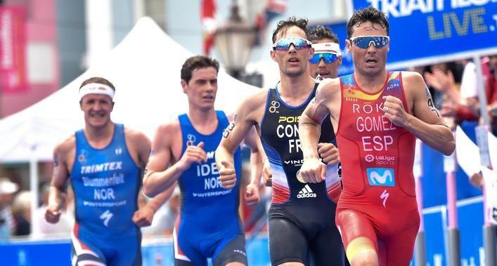 Mario Mola intentará adelantar posiciones en el triatlón de Japón