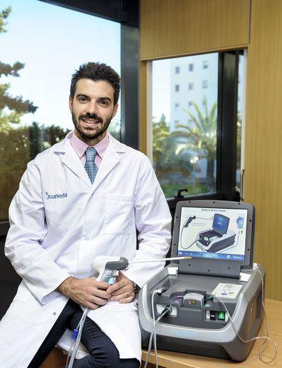 Urología de Juaneda Hospitals trata la hipertrofia benigna de próstata en cinco minutos