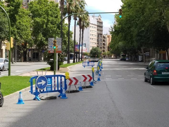 Cierran una semana el túnel que conecta Avenidas con General Riera y Antoni Marqués en Palma