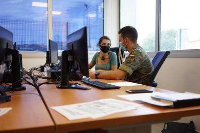 Los militares ya rastrean el coronavirus en Baleares