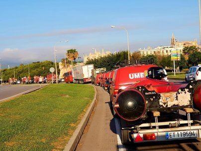 Defensa descarta instalar una base permanente de la UME en Baleares