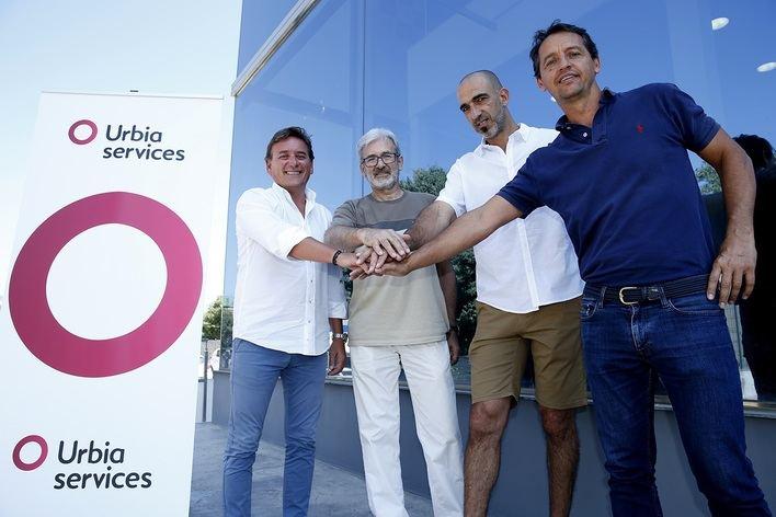 El Club Voley Palma renueva el acuerdo de patrocinio con Urbia Services