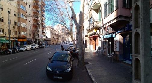La calle Rafael Rodríguez tendrá carril bici, suelo drenante y nuevo arbolado