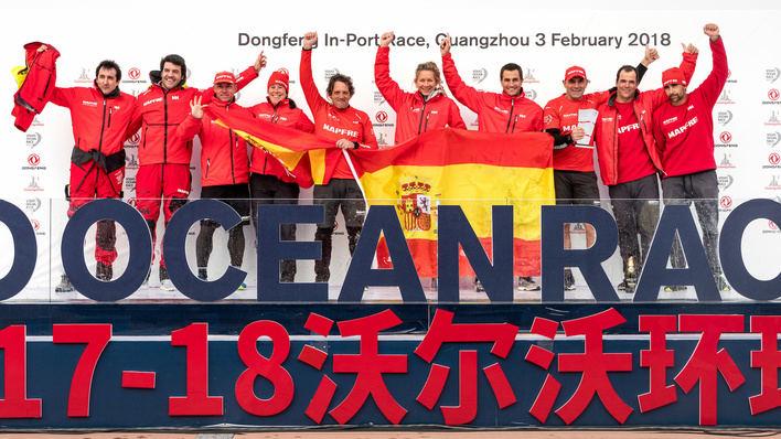 El Mapfre conquista China en la regata costera