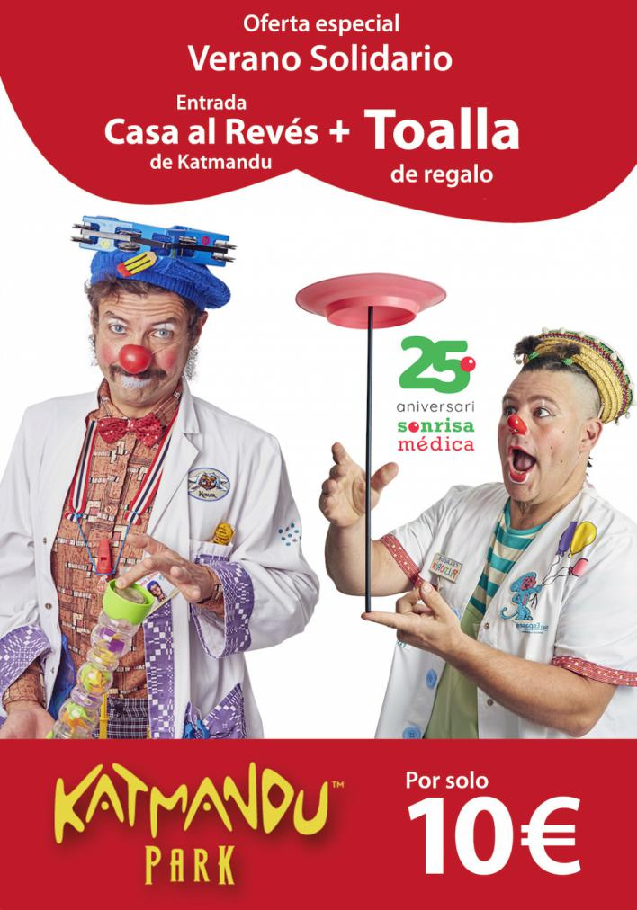 Katmandú venderá entradas a diez euros para colaborar con Sonrisa Médica