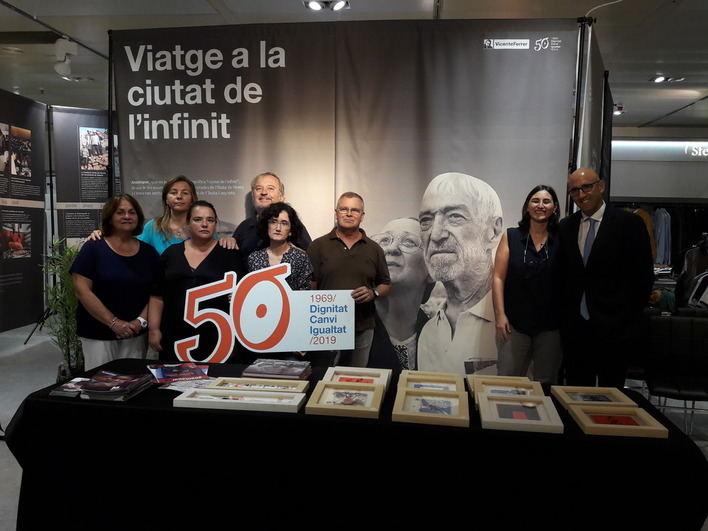 El Corte Inglés acoge una exposición sobre el 50 aniversario de la Fundación Vicente Ferrer