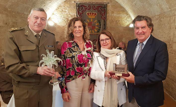 La Comandancia de Baleares homenajea a Vidrios Gordiola por su 300 aniversario