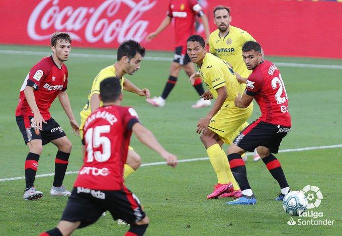 El Mallorca se hunde un poco más al perder frente al Villarreal (1-0)