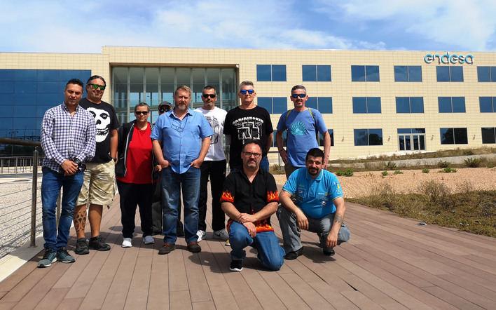 Alumnos del Centro de Formación de Inca conocen el funcionamiento de la sede de Endesa
