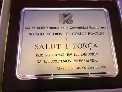 El periódico 'Salut i Força', galardonado en la Comunidad Valenciana