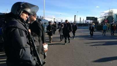 Los taxistas boicotean Fitur y bloquean a miles de asistentes