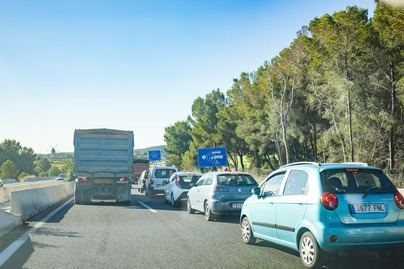 Una colisión múltiple en Santa Ponça obliga a cortar la autopista de Andratx