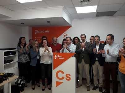 Ciudadanos celebra ser la tercera fuerza política en Baleares