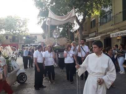Cort niega el mobiliario para celebrar el Corpus en el Coll d'en Rabassa