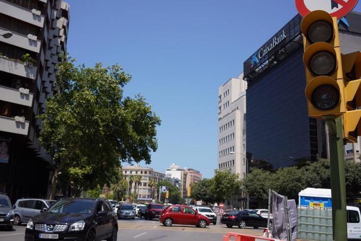 Palma: atascos constantes también en verano