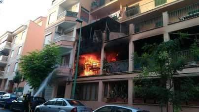 Una mujer muy grave y otros quince heridos en el incendio de s'Arenal