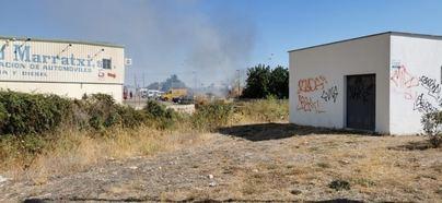 Declarado un incendio agrícola en el Polígono de Marratxí
