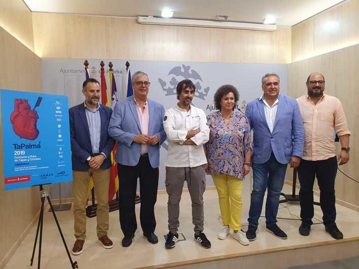 Los mejores cocineros y barmans de la isla se darán cita en Tapalma 2019