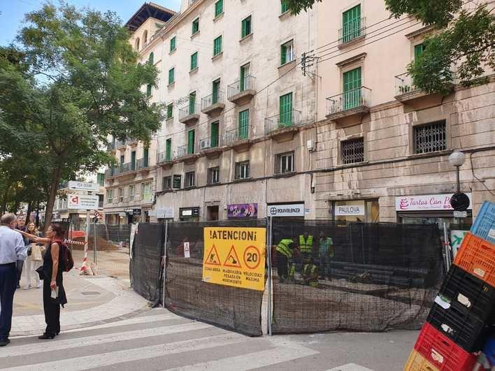 Reabierto el tráfico en la calle Josep Tous i Ferrer