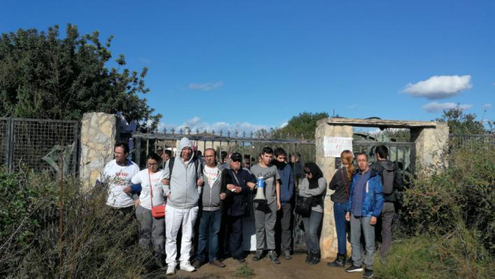 Paralizado el desahucio de los  Santiago Moreno de Llucmajor