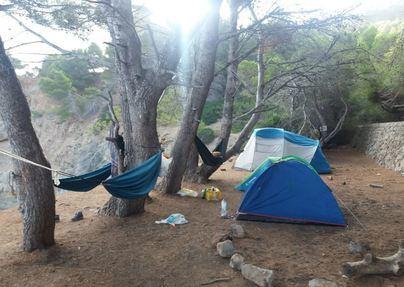 Medio Ambiente intensifica la vigilancia para impedir acampadas en Llucalcari