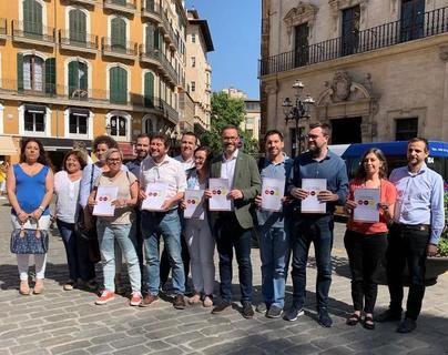 PSIB, Més y Podemos formarán gobierno en Cort tras cerrar el reparto de áreas
