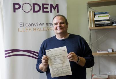 Aitor Morrás, nuevo secretario de Podemos en el municipio de Ibiza tras lograr el 53,7 por ciento de votos