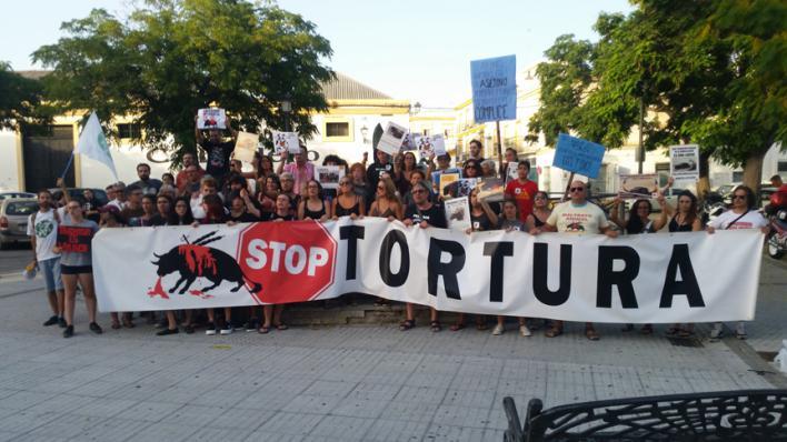 Convocan una manifestación antitaurina ante el Coliseo Balear el 9 de agosto, día de la corrida