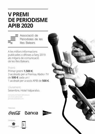 La APIB convoca la quinta edición de su Premio de Periodismo