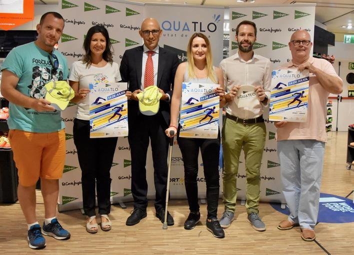 El 'Aquatló Ciutat de Palma El Corte Inglés' se llevará a cabo en la playa de Can Pere Antoni