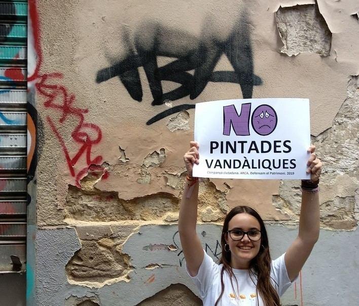 Arca pide a Cort que se responsabilice de las pintadas vandálicas de Palma