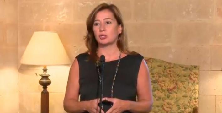 Armengol: 'Repetir elecciones crea problemas a la gente de Baleares'