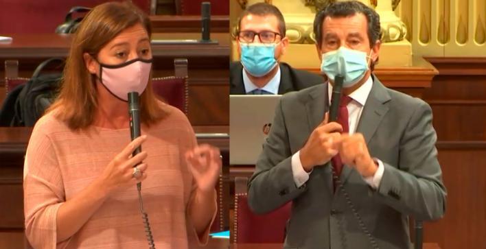 Company alerta de la okupación en Baleares y Armengol le llama demagogo