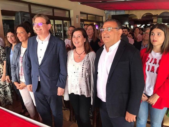Armengol insta a que Baleares apruebe una declaración de emergencia climática